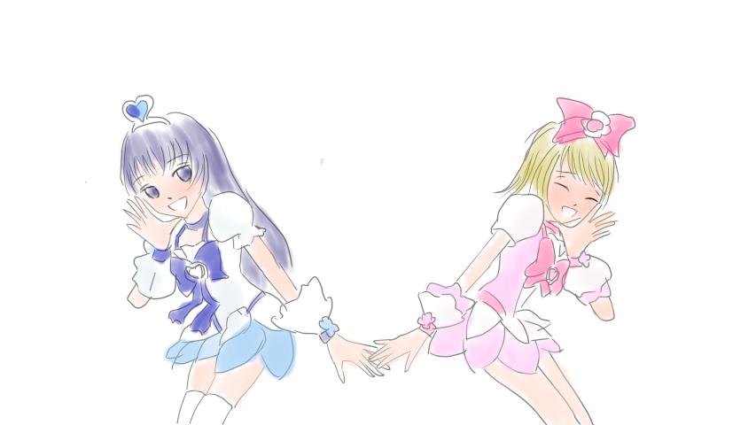 ハートキャッチみぎゆか  CG