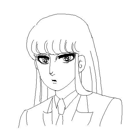 姫菊ラフ  CG
