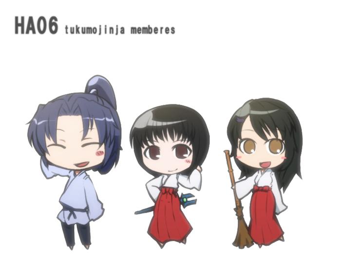 チビチビ九十九神社  CG