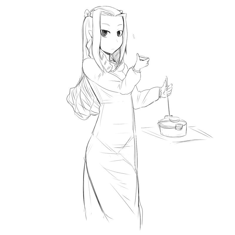 朝食の味噌汁 CG