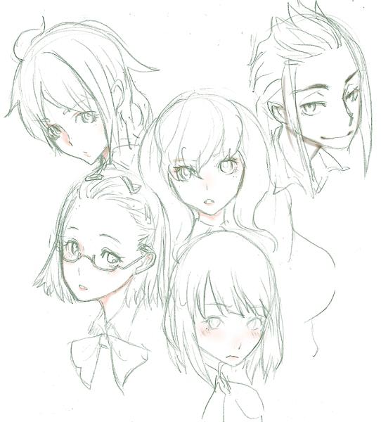 イケメンと四人のプリンセス  CG