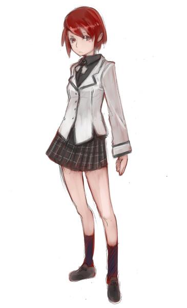 僕の考えた春日高校制服案2 CG