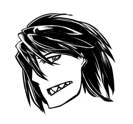 キャラフェイス : 竜  CG