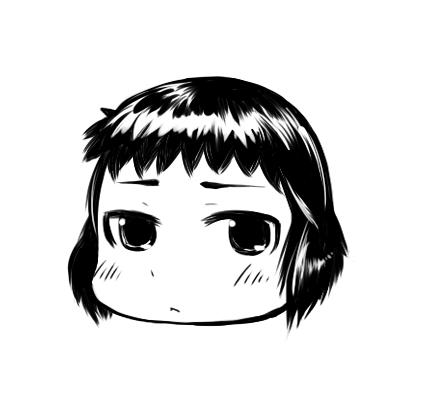 キャラフェイス : マナ  CG