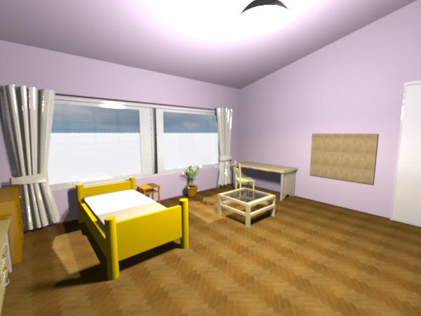 荊花の部屋2  CG