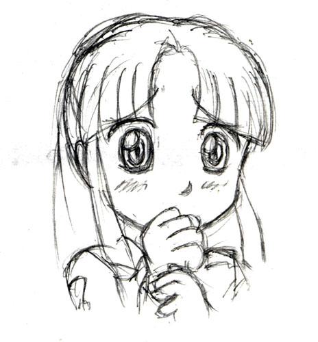 みどりん(恥ずかしがりバージョン)  CG