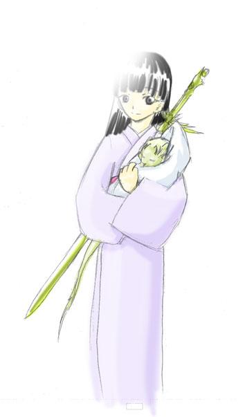 赤ん坊光太郎  CG