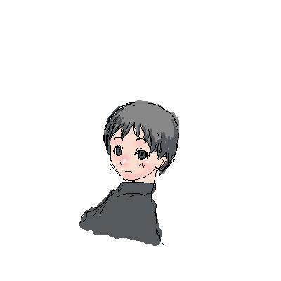 九郎、おねむ?  CG