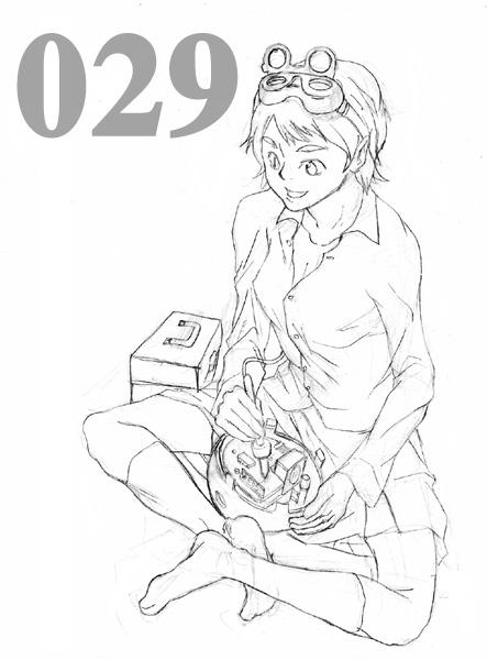 HA20キャラリストCG029:平本沙奈  CG