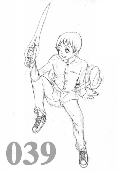 HA20キャラリストCG039:烏坂九郎  CG