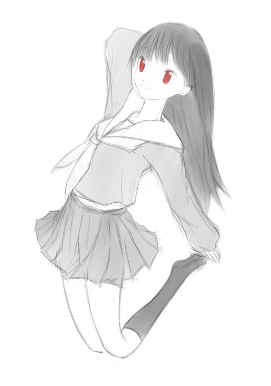 うっちゃんラフ  CG