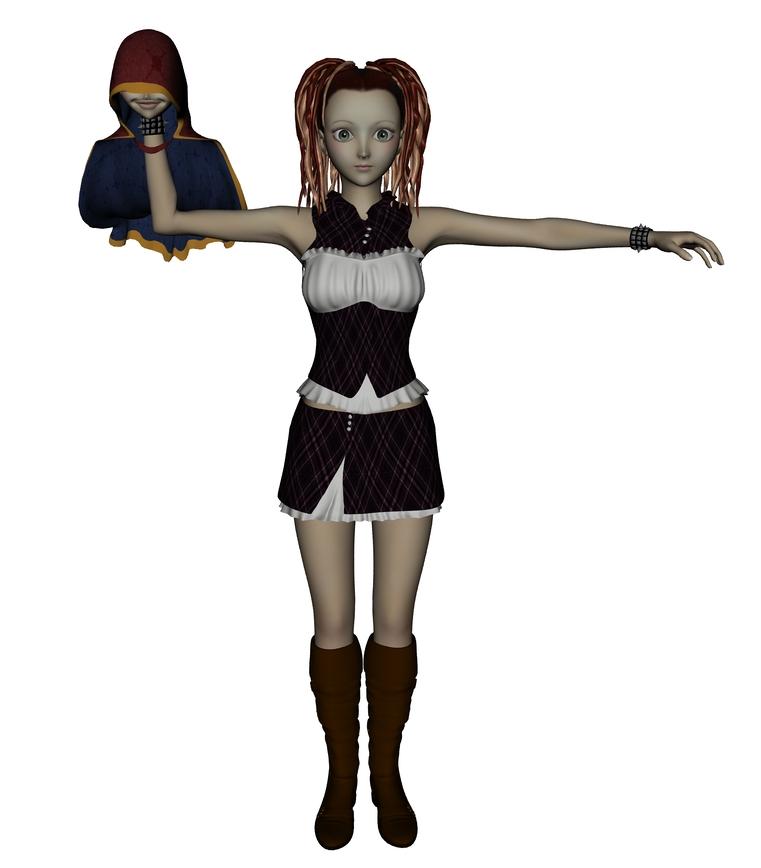 3Dサトリン試作  CG