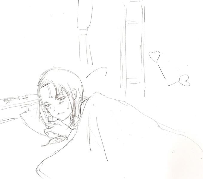 夜中の声ラフ(J) 1  CG