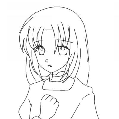 ウヤボム少女型 CG
