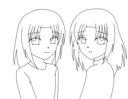 リベカと白弥 CG