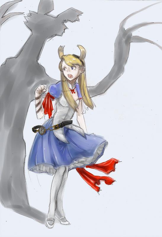 悲劇の国のアリス  CG