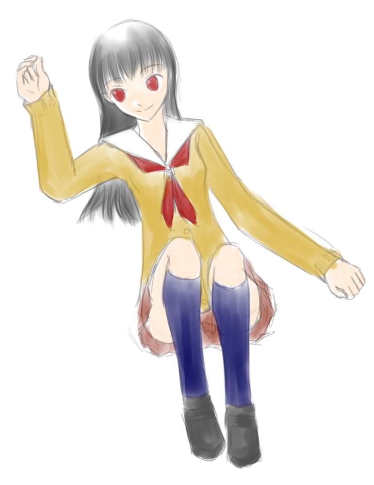 霞のゆとり姫  CG