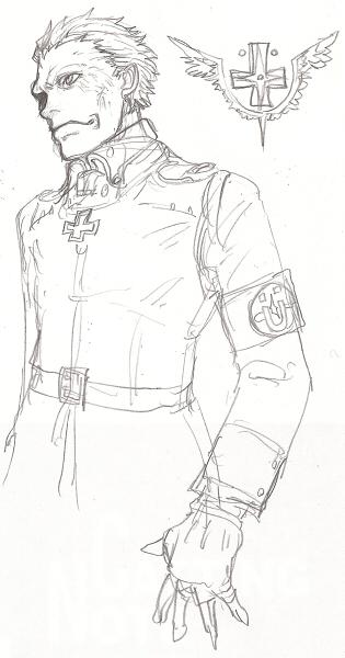 デネブと超力兵団腕章  CG