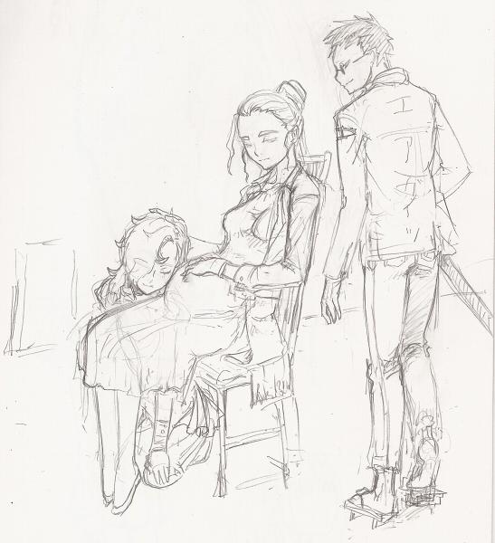 家族の肖像  CG