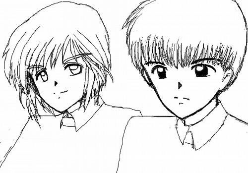阿古崎陣内&ミハエル安東マウス画 CG