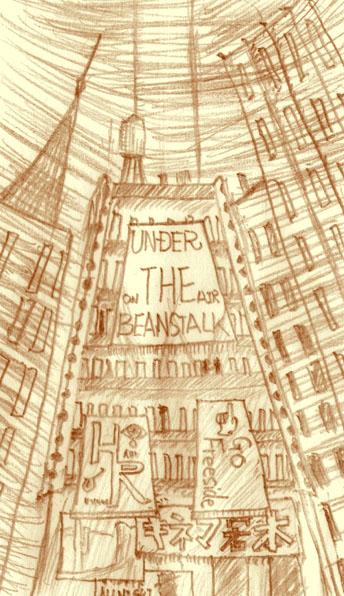 Under the Beanstalk Top(原画)  CG
